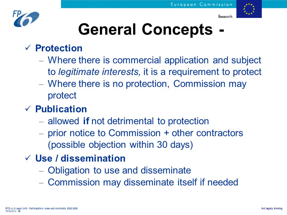 General Concepts - Protection