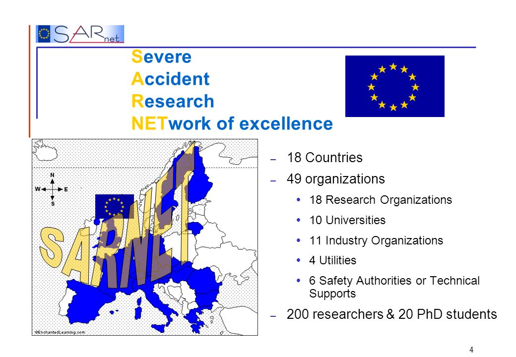 Severe Accident Research NETwork of excellence