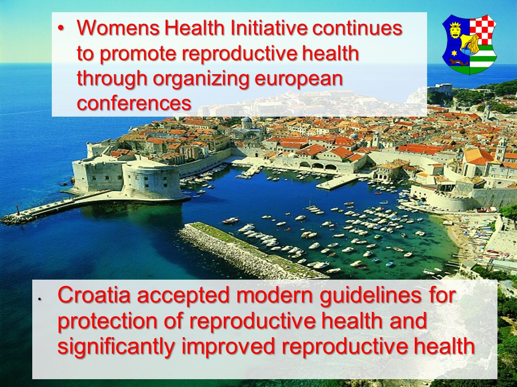 Womens Health Initiative continues to promote reproductive health through organizing european conferences