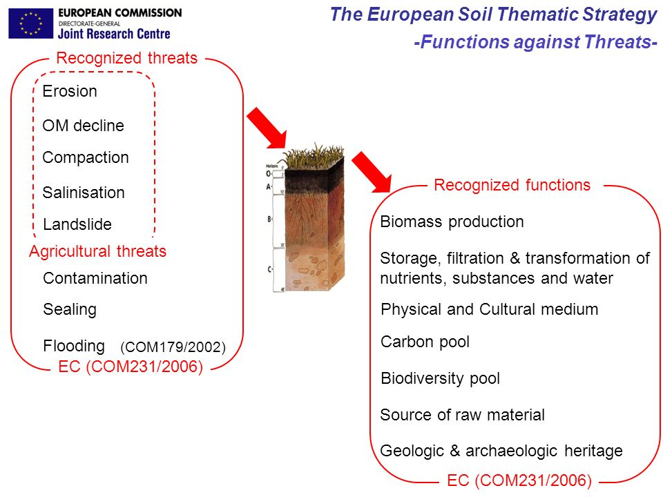 The European Soil Thematic Strategy