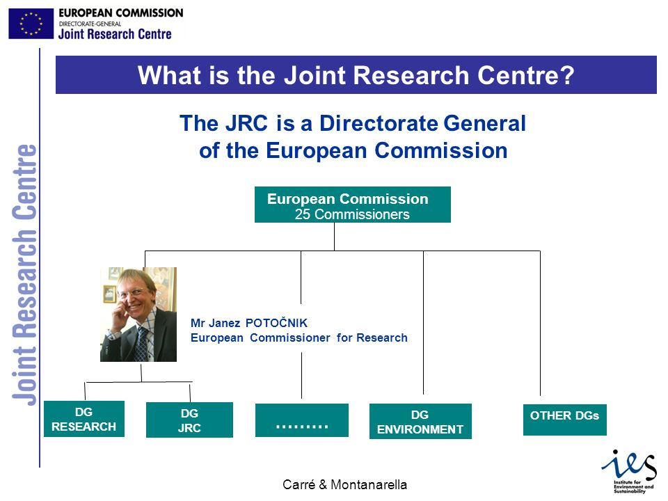 What is the Joint Research Centre