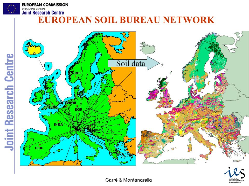 EUROPEAN SOIL BUREAU NETWORK