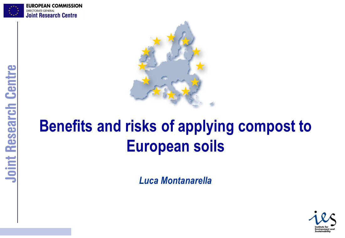 Benefits and risks of applying compost to European soils