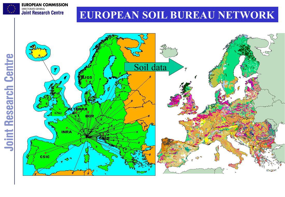EUROPEAN SOIL BUREAU NETWORK