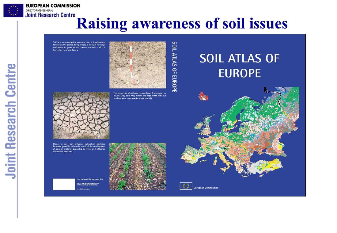 Raising awareness of soil issues