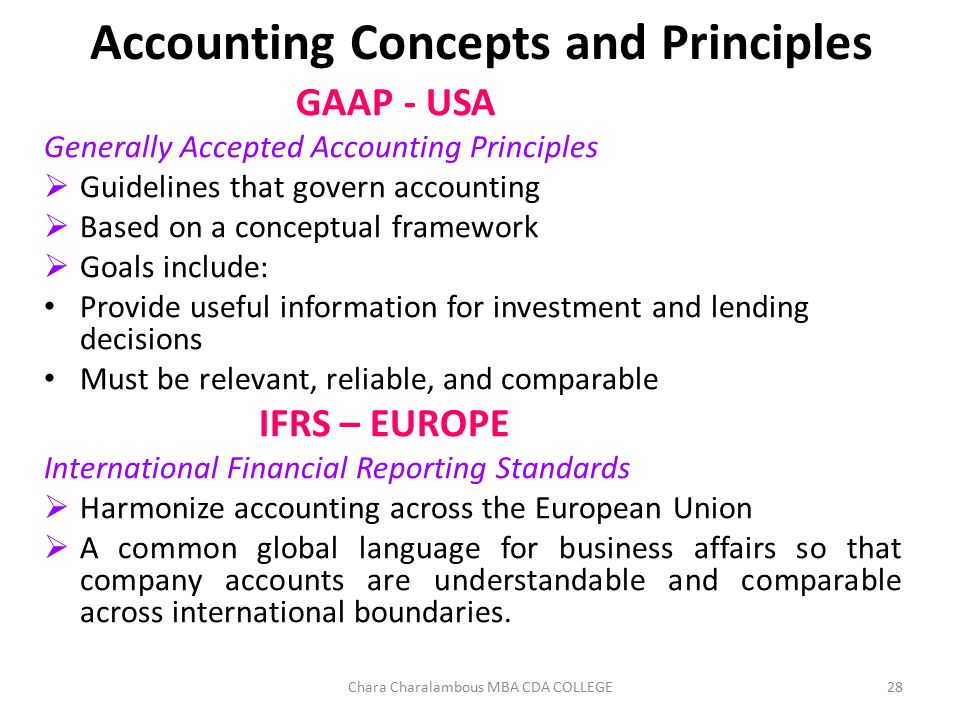 generally accepted accounting principles and relevant Generally accepted accounting principles  at the end of which financial statement prepared to throw light on the result of the operation as the end of a relevant.