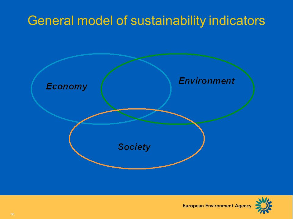 General model of sustainability indicators