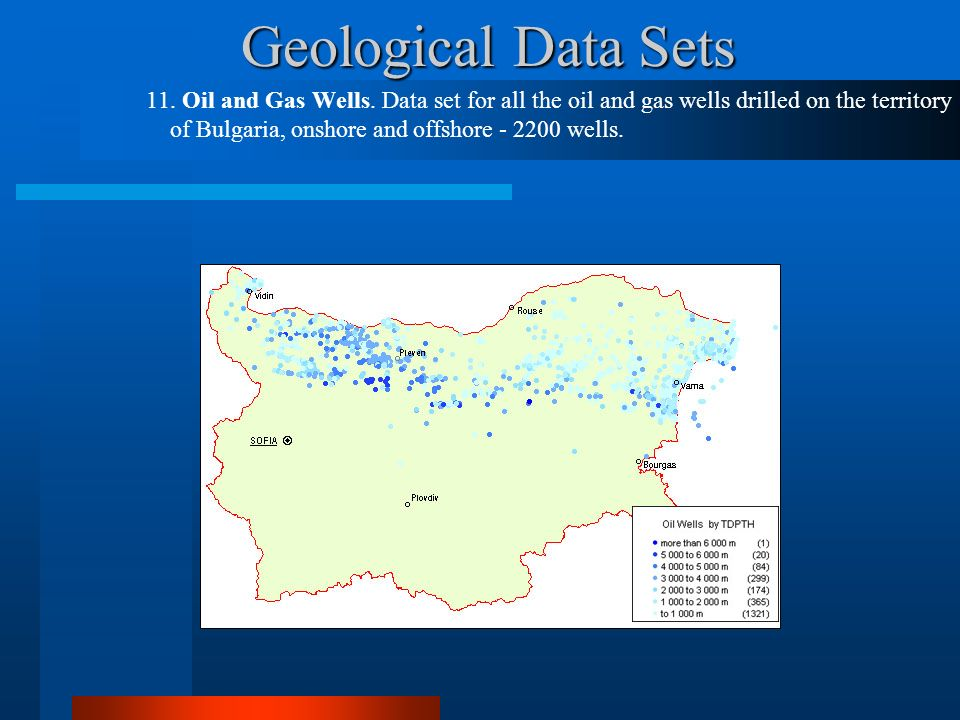 Geological Data Sets