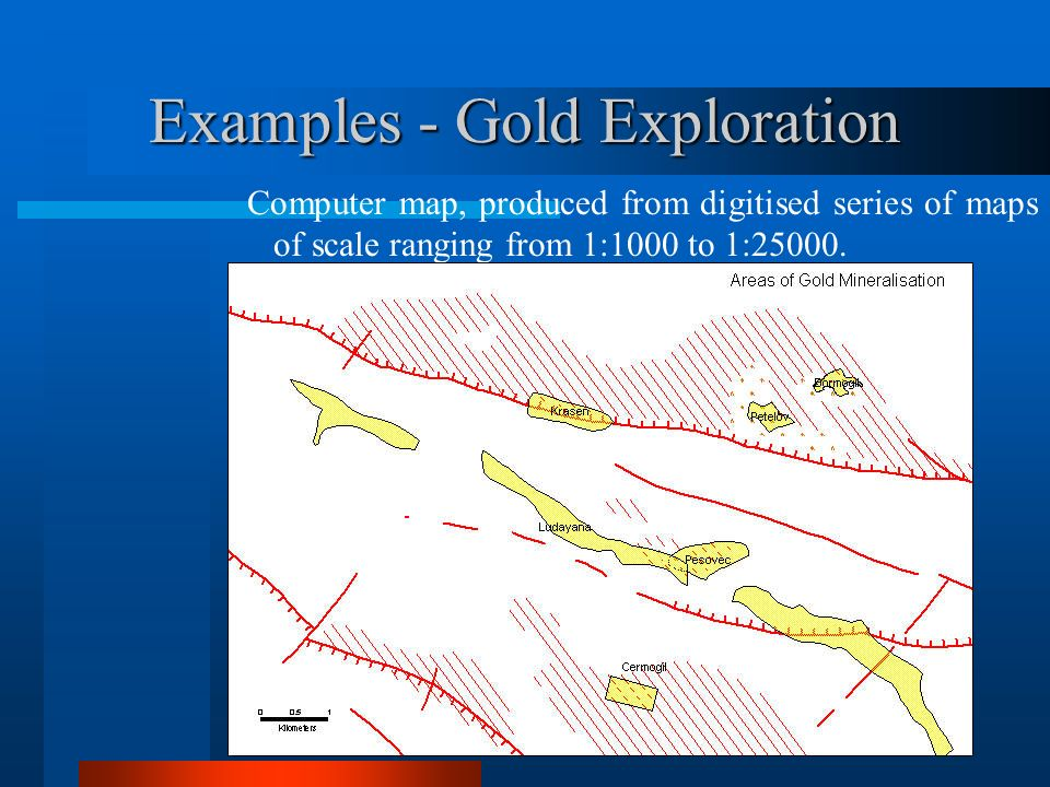 Examples - Gold Exploration