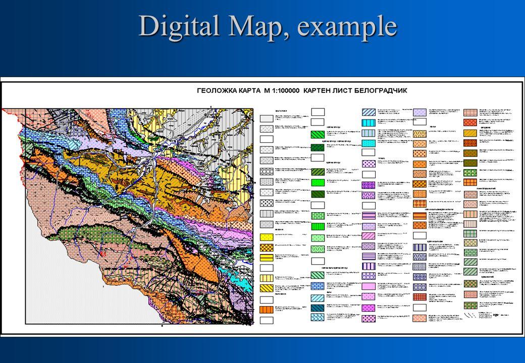 Digital Map, example