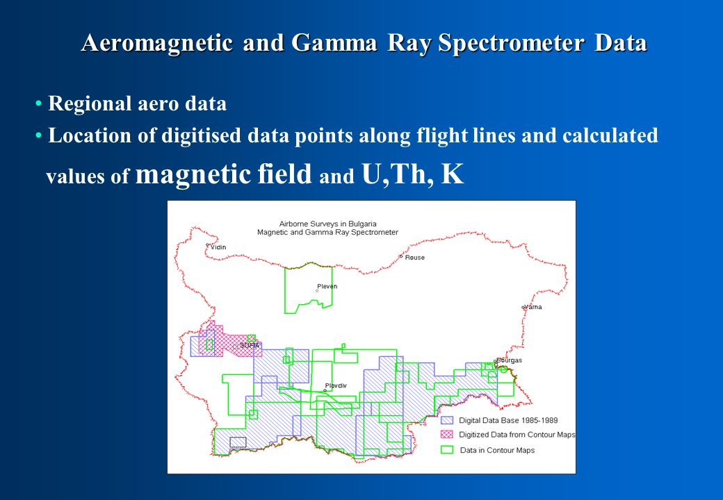 Aeromagnetic and Gamma Ray Spectrometer Data