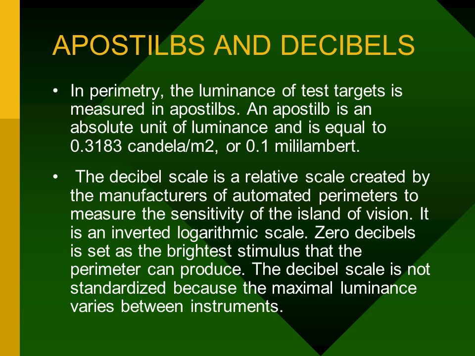Visual Fields in Glaucoma - ppt video online download