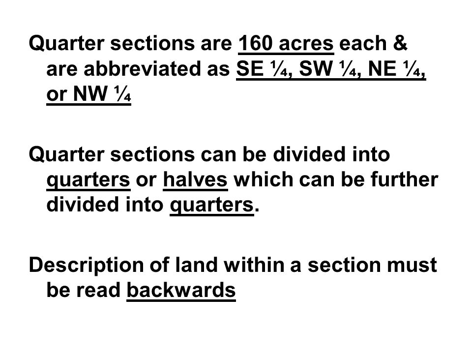 How Many Acres To A Section 28 Images How Many Acres