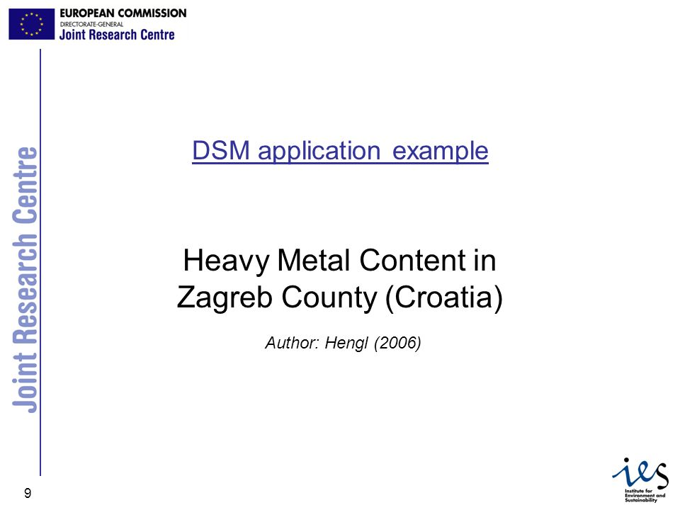 Heavy Metal Content in Zagreb County (Croatia)