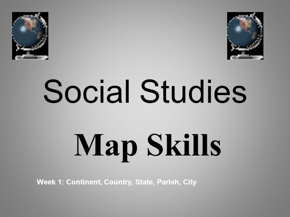 Social Studies Map Skills Ppt Video Online Download Spain - Skills worksheet map skills us crops answers