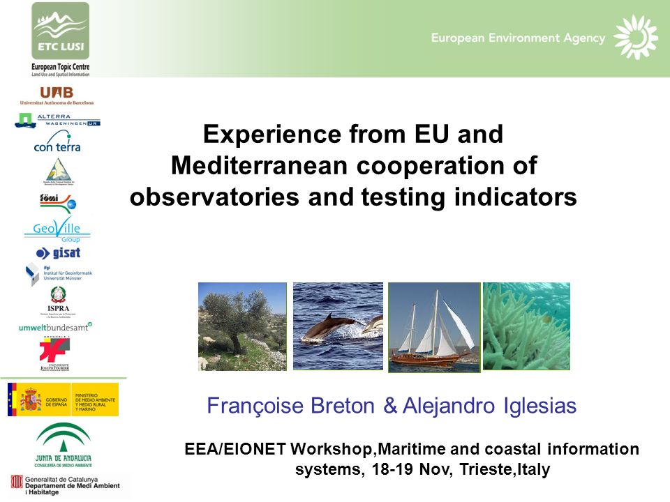The Pegaso project Experience from EU and Mediterranean cooperation of observatories and testing indicators.