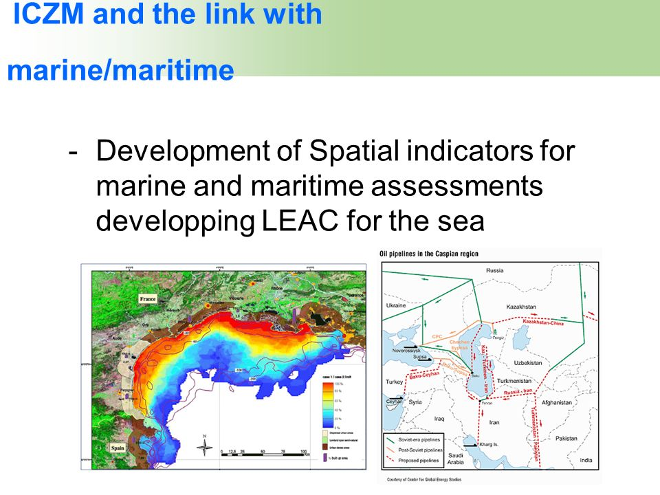 ICZM and the link with marine/maritime