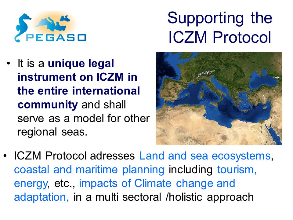 Supporting the ICZM Protocol