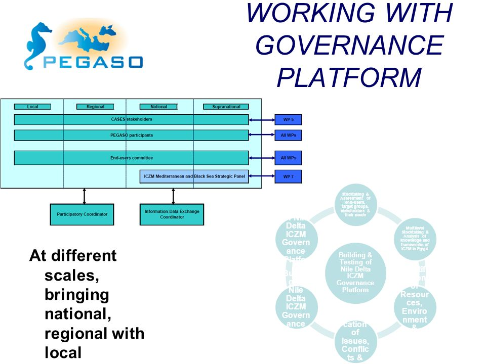 WORKING WITH GOVERNANCE PLATFORM