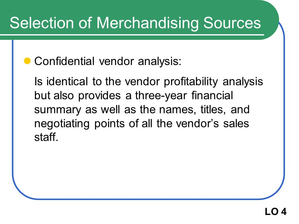 Vendor Analysis Vendor Analysis Template Vendor Selection Analysis