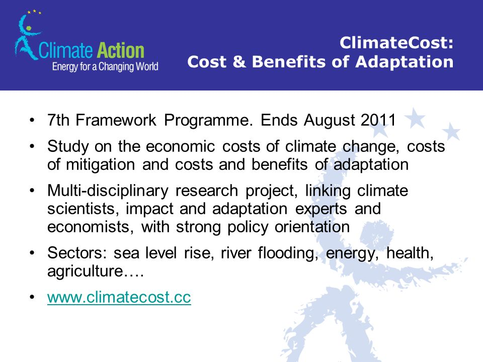 ClimateCost: Cost & Benefits of Adaptation