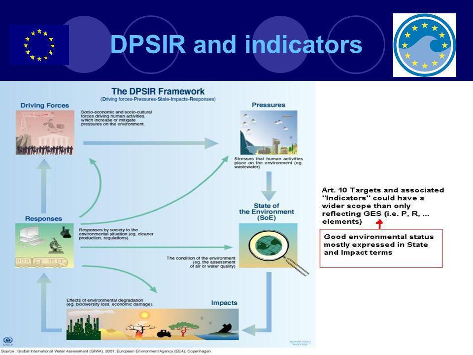 DPSIR and indicators