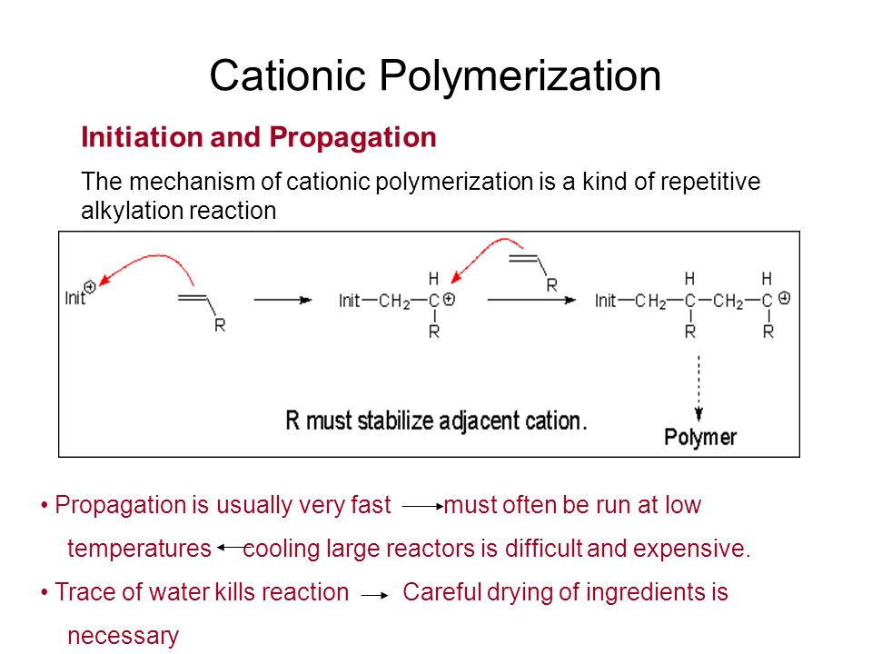 Ionic Polymerization Ppt Video Online Download
