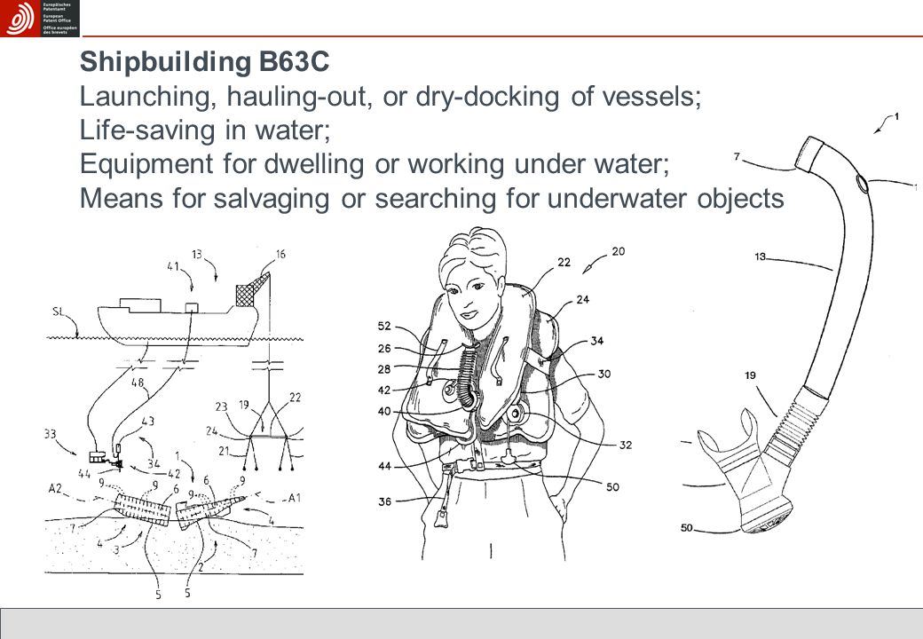Shipbuilding B63C Launching, hauling-out, or dry-docking of vessels; Life-saving in water; Equipment for dwelling or working under water; Means for salvaging or searching for underwater objects