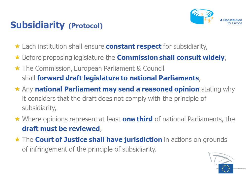 Subsidiarity (Protocol)