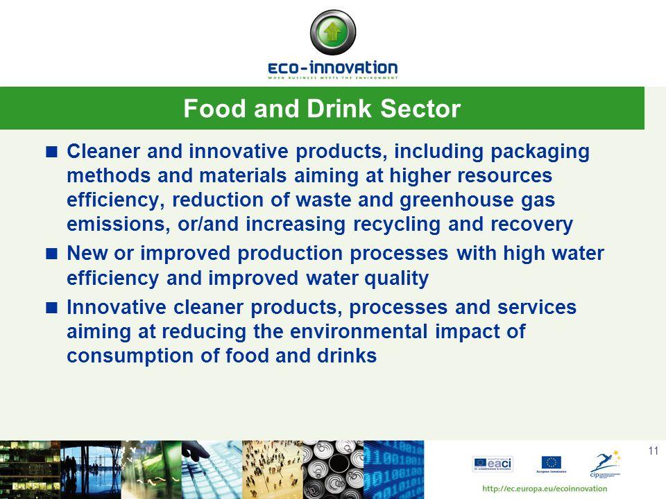 Food and Drink Sector