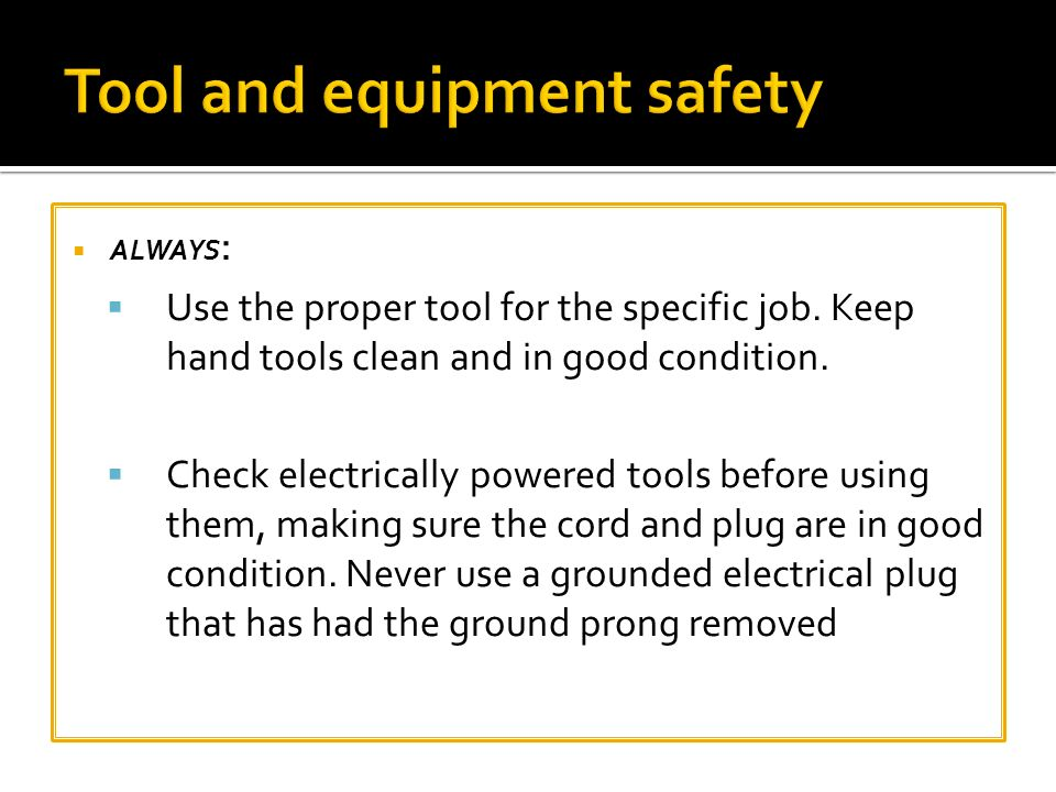 electrical safety tools and equipment pdf