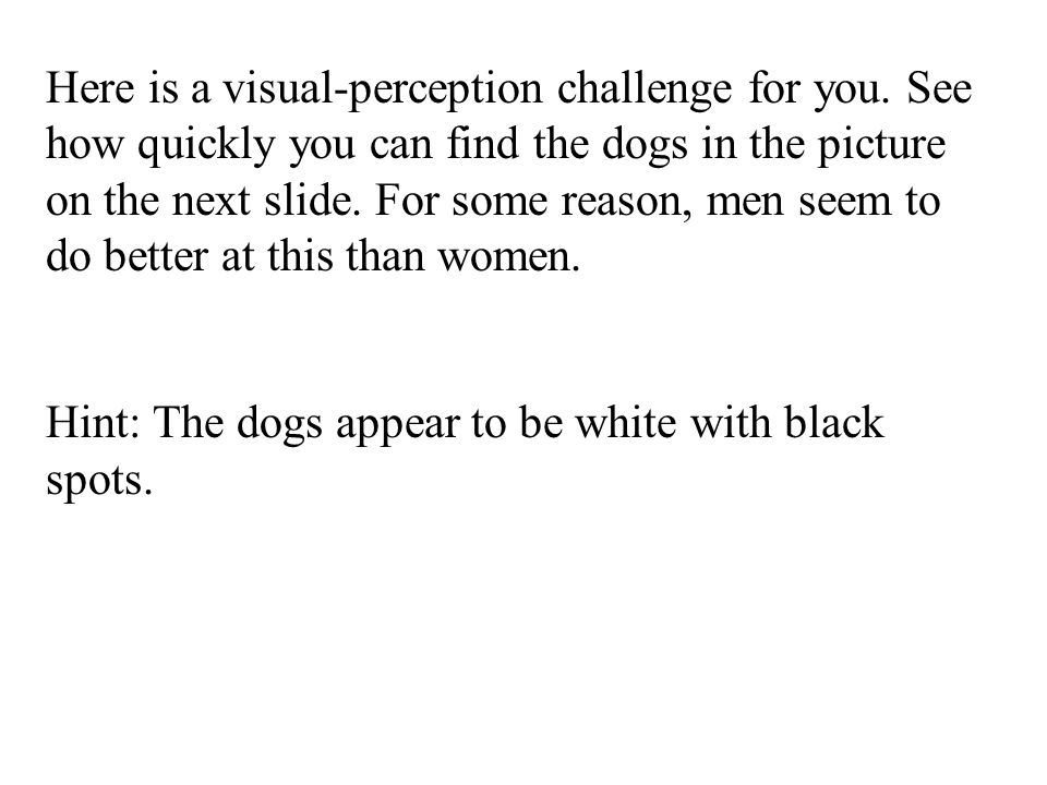 Here is a visual-perception challenge for you
