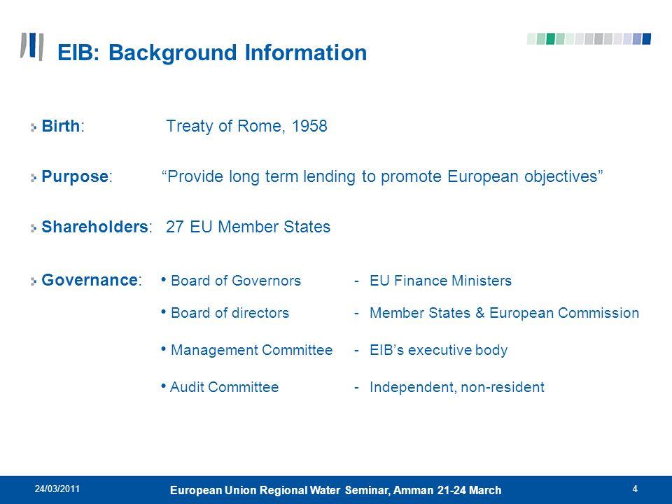EIB: Background Information
