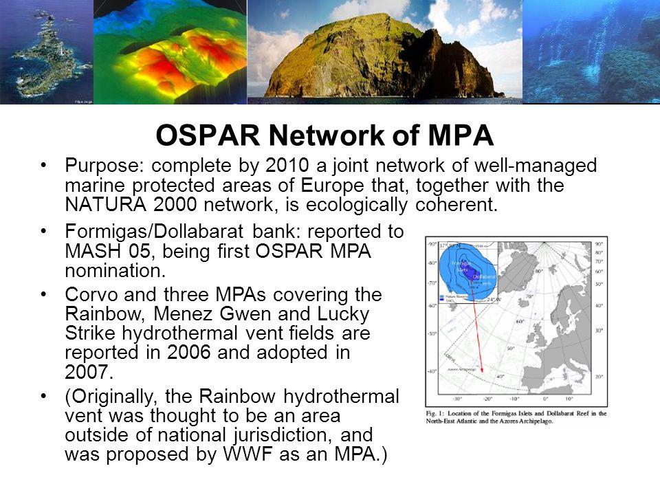 OSPAR Network of MPA