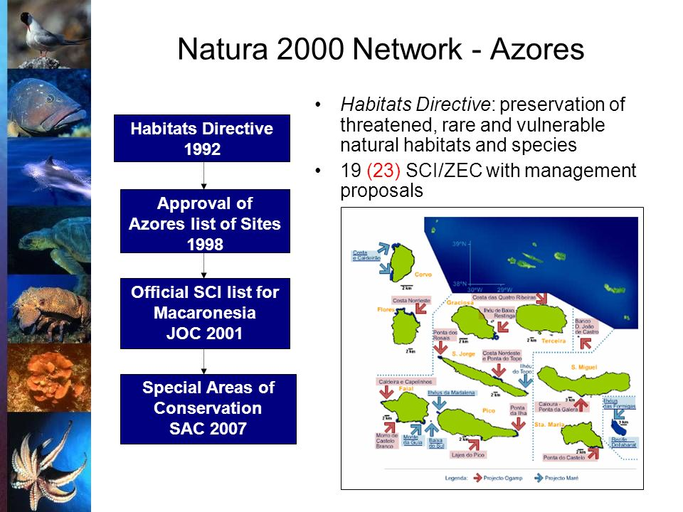 Natura 2000 Network - Azores