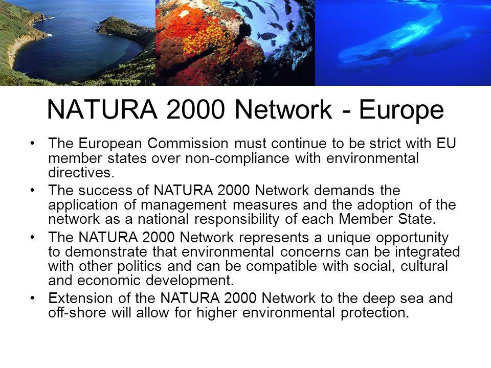 NATURA 2000 Network - Europe