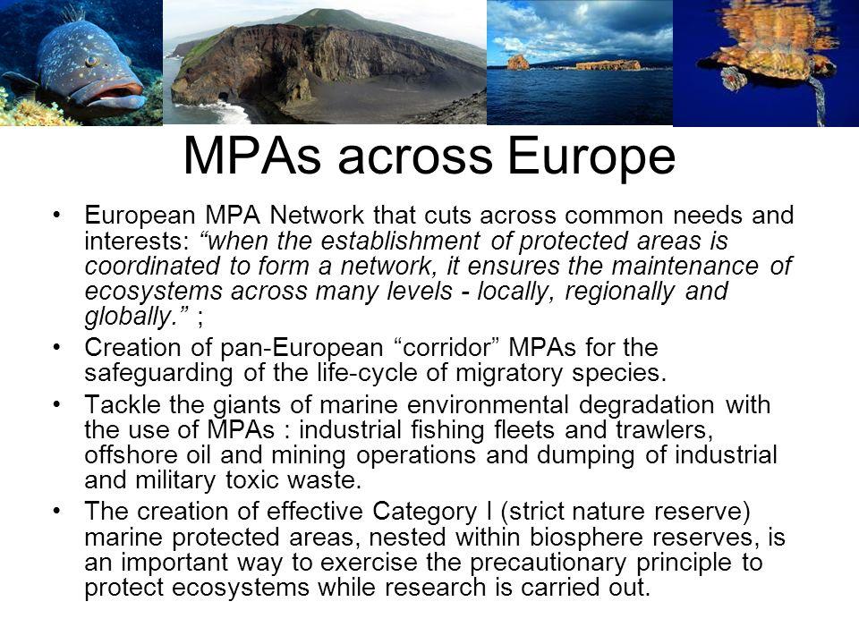 MPAs across Europe