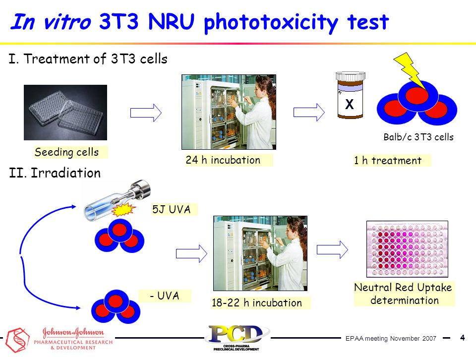 In vitro 3T3 NRU phototoxicity test