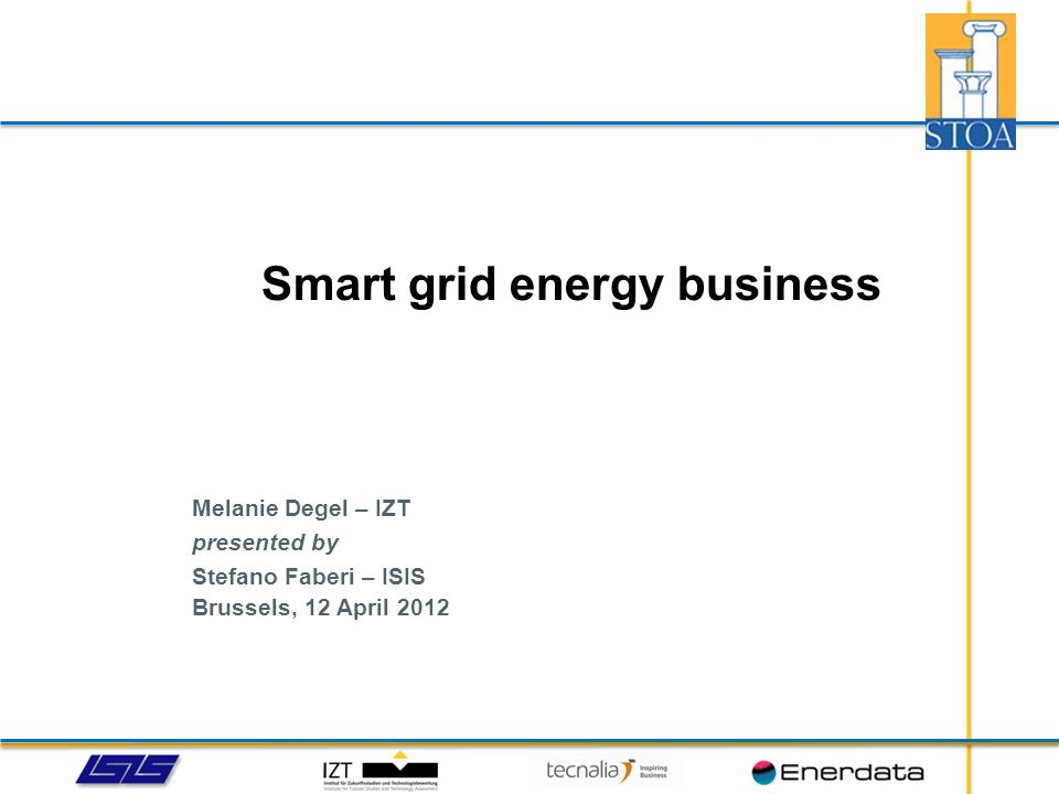 Smart grid energy business