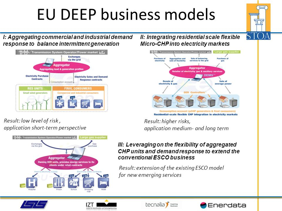 EU DEEP business models