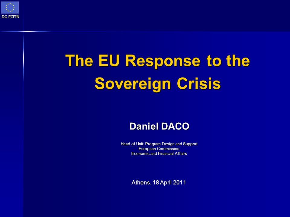 The EU Response to the Sovereign Crisis