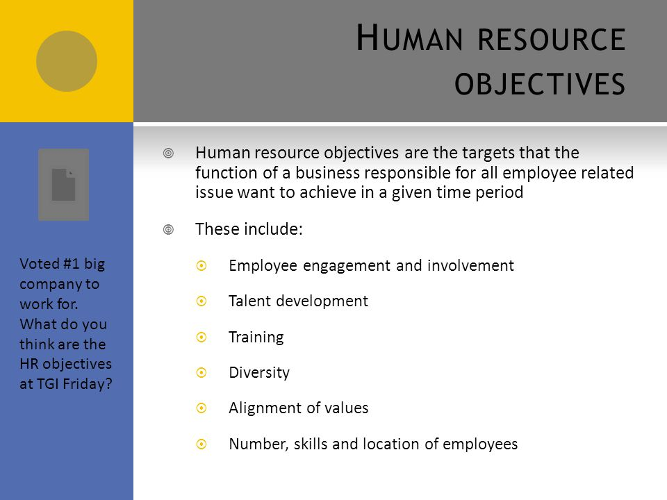 the objectives of employee resourcing 5eeg online task  can actively contribute in achieving the organisations long terms aims and objectives employee  resourcing: linked to.