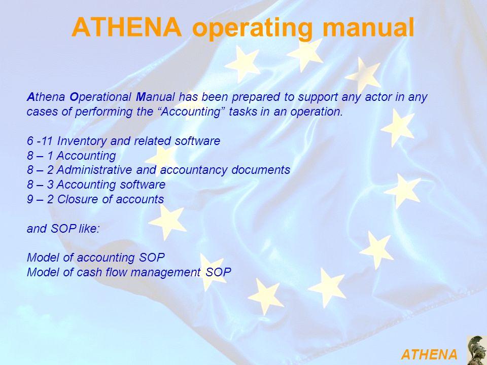 ATHENA operating manual