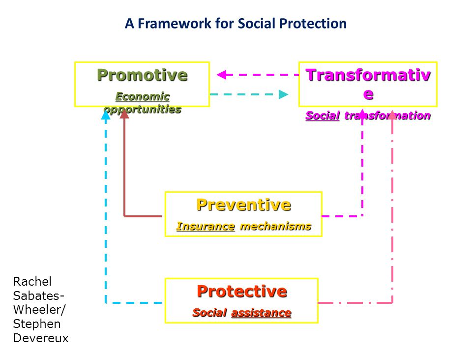 A Framework for Social Protection