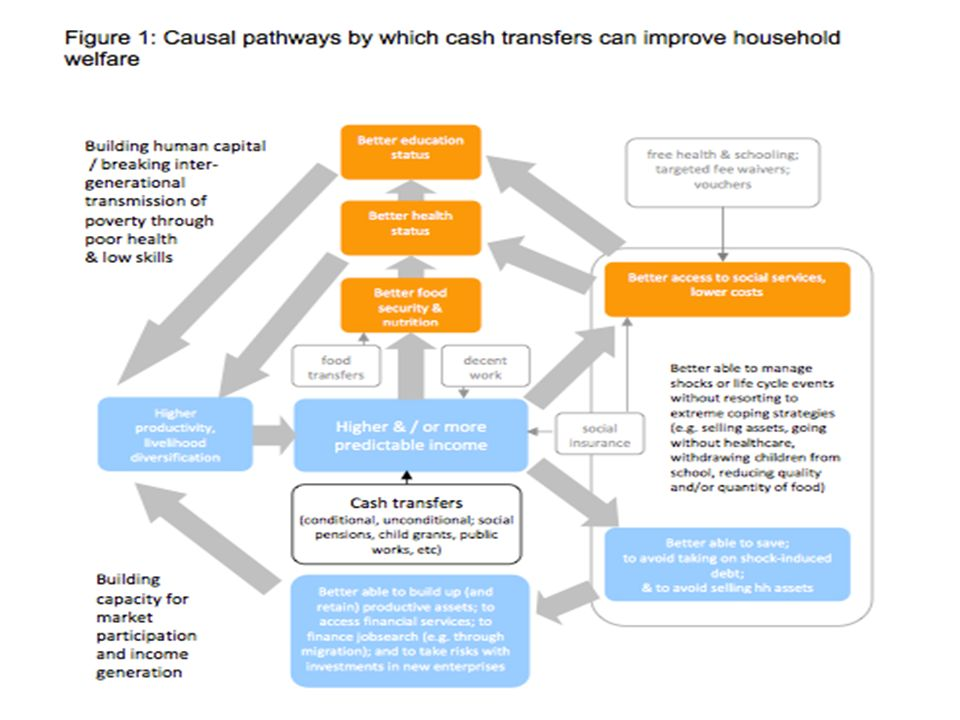 SOURCE: DFID 2011. Cash Transfers Evidence Paper. Policy Division 2011