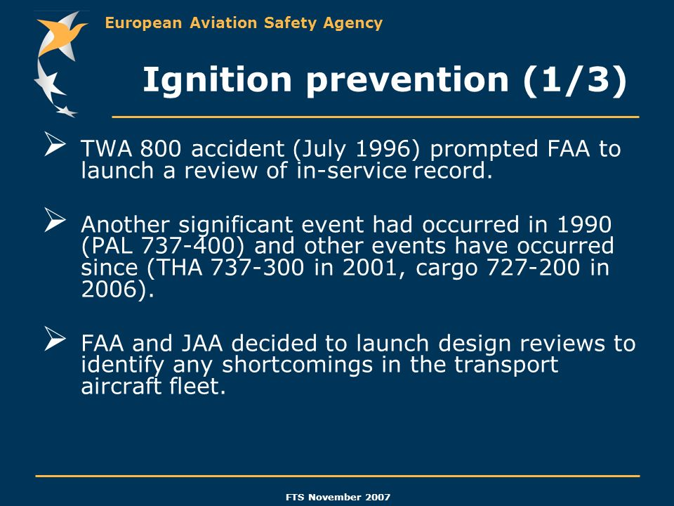 Ignition prevention (1/3)