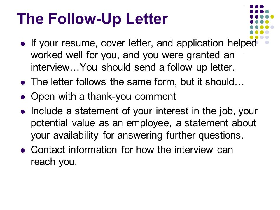 Writing the business letter from write for college pages for Should you bring a cover letter to an interview