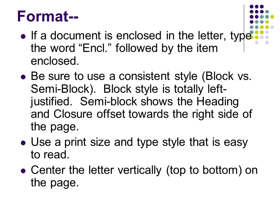 writing the business letter from write for college pages ppt