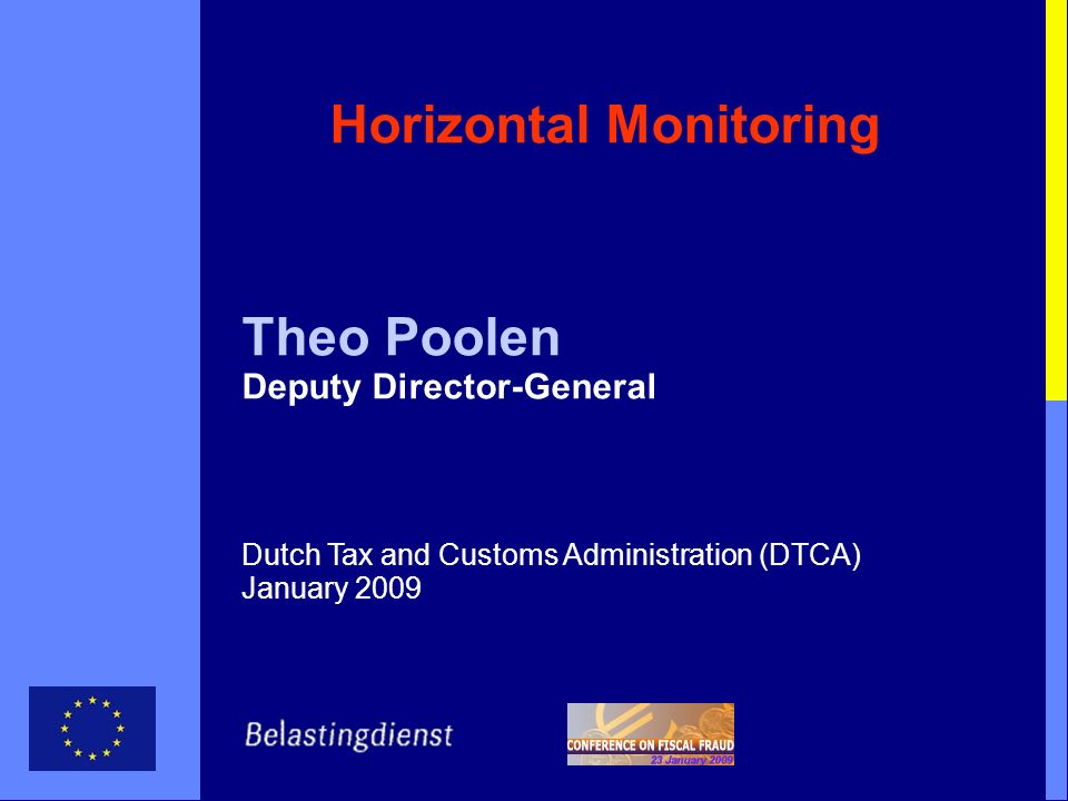 Horizontal Monitoring