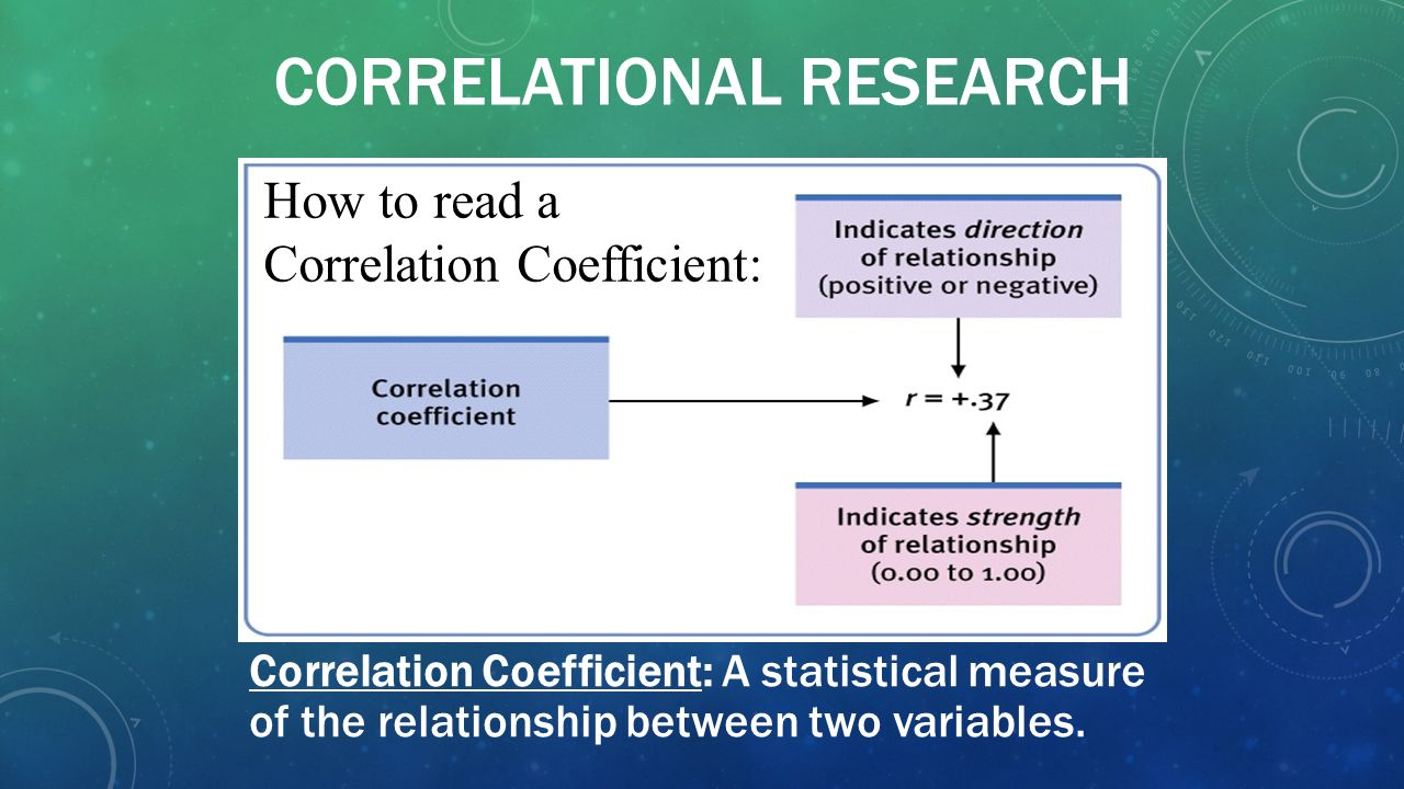 relationship between 2 continuous variables in research
